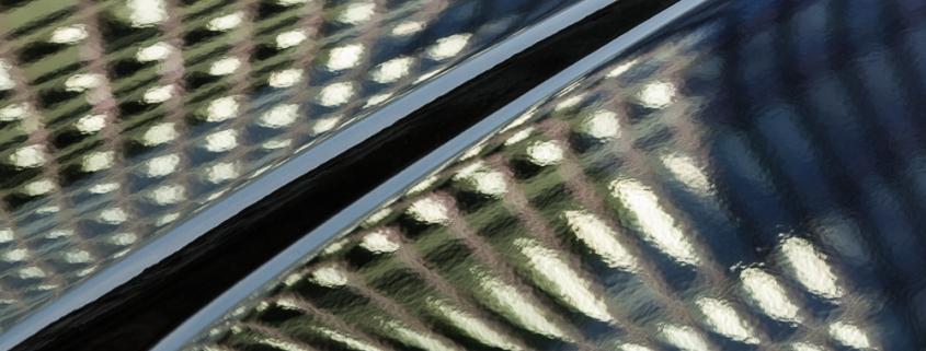 Reflet sur une voiture