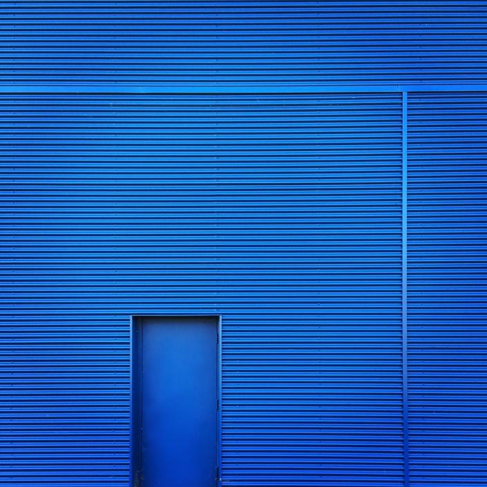 Profondément bleu