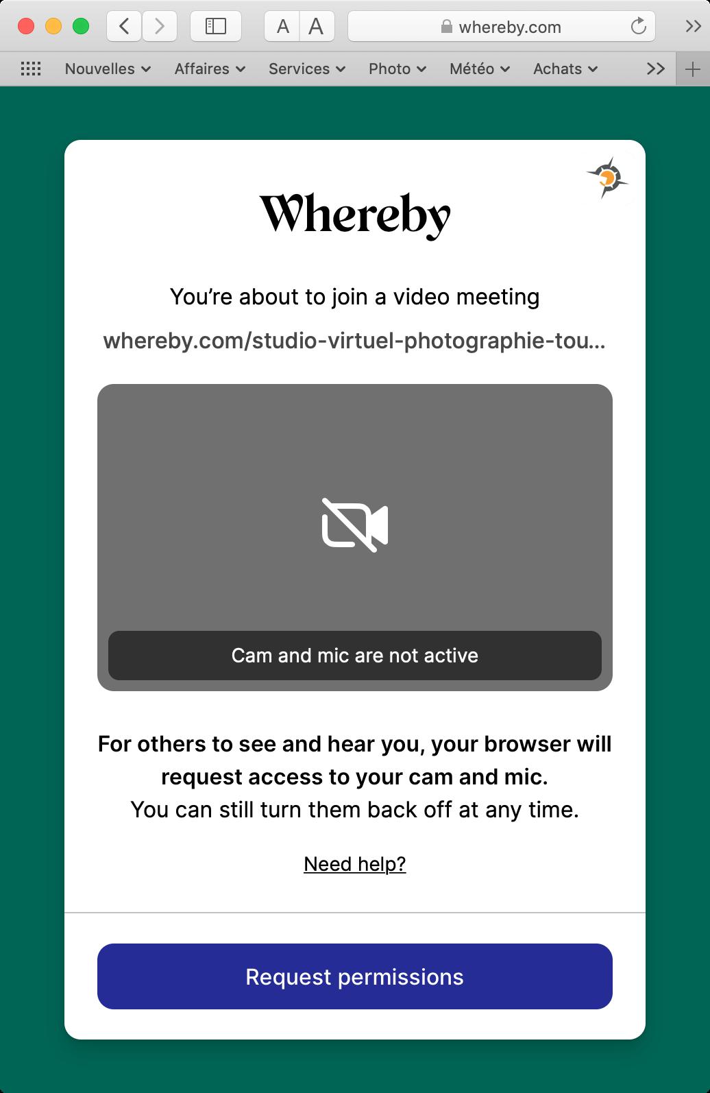 Connexion Whereby
